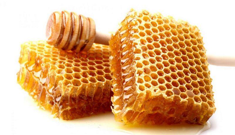 مصرف عسل با موم
