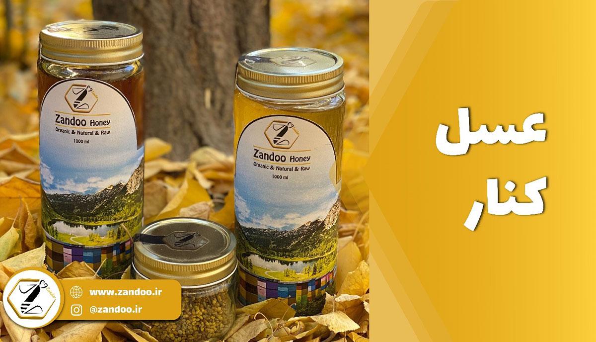 محصول عسل کنار مجموعه زندو