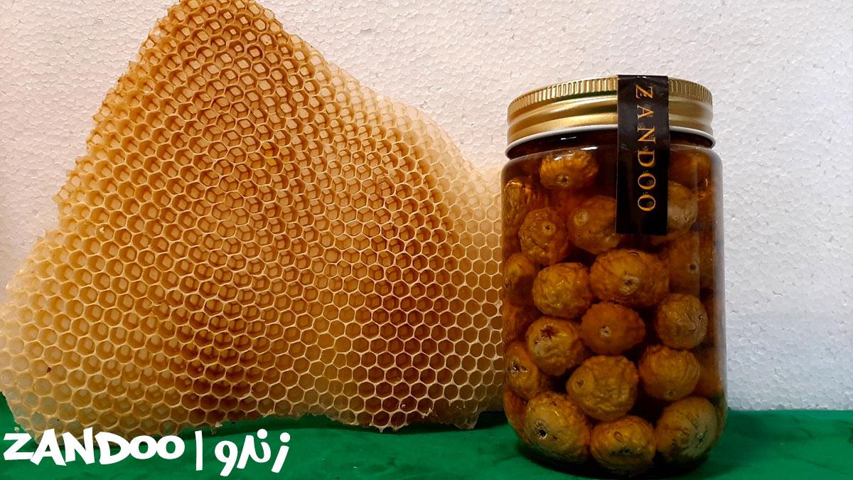 خرید عسل چند گیاه میکس انجیر