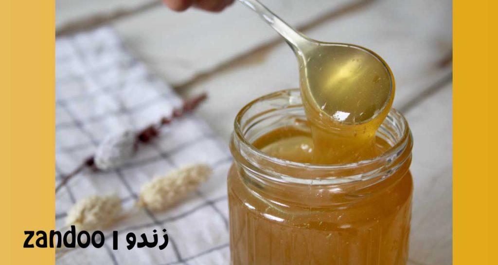 زندو- خواص عسل زعفران